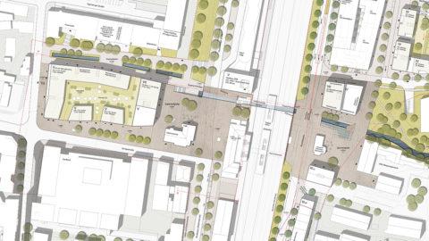 Bahnstadt Nürtingen Plan Hosoya Schaefer Architects